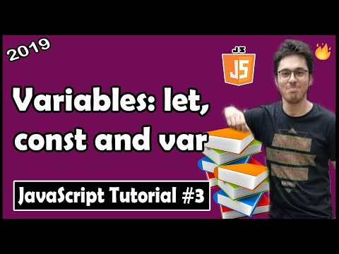 Variables: let, const & var in JavaScript | JavaScript Tutorial In Hindi #3 thumbnail