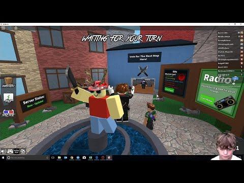 Murder Mystery   Tyler's Roblox Mayhem EP-1   Gaming With Tyler