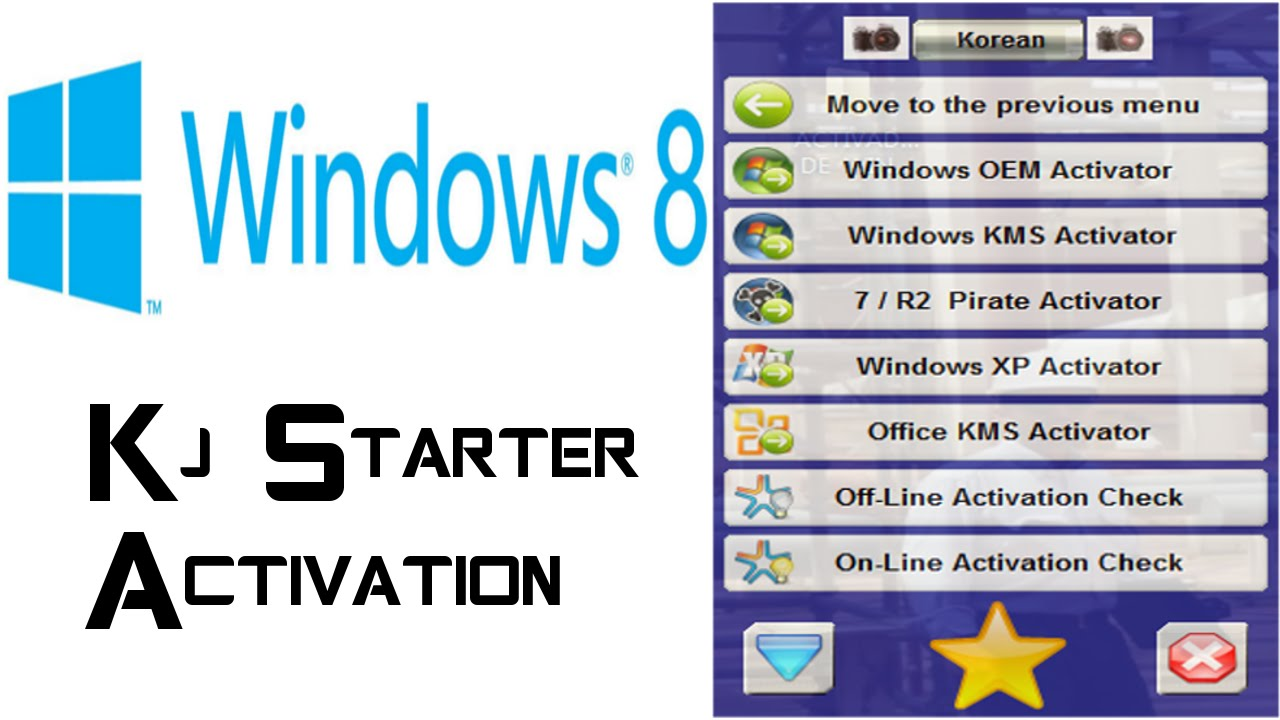 kj starter windows 8