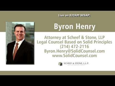 Attorney Byron Henry live on the radio in Dallas/Fort Worth | 6/27/16