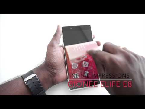 Gionee Elife E8 Unboxing & Initial Impressions