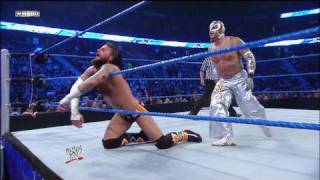 Rey Mysterio & MVP vs. The Straight Edge Society
