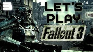 Let's Play Fallout 3 Part 3 - Goodbye Vault 101