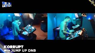 KORRUPT DNB on ROUGH TEMPO RADIO [22nd JULY 2013]