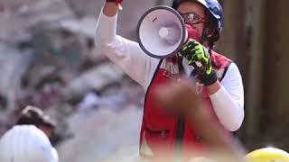 救援人员在墨西哥城和周边地区搜寻  希望能找到地震幸存者