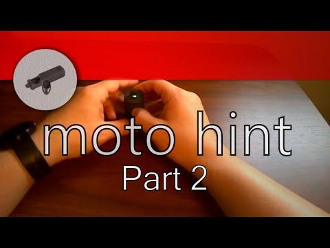 3 piece review - Moto hint Part 2