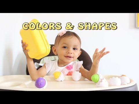 Tomy 1581 Hide /'n/' Squeak Eggs Shape Sorting Child Game