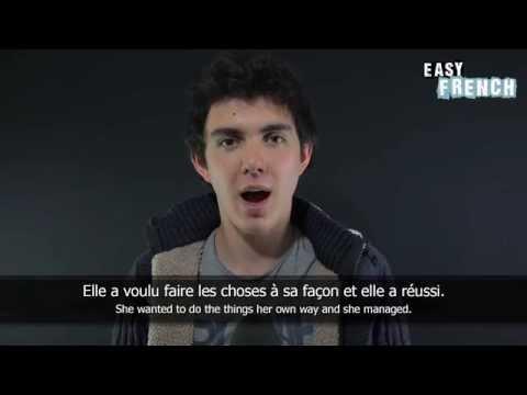 Tiếng Pháp bài 8