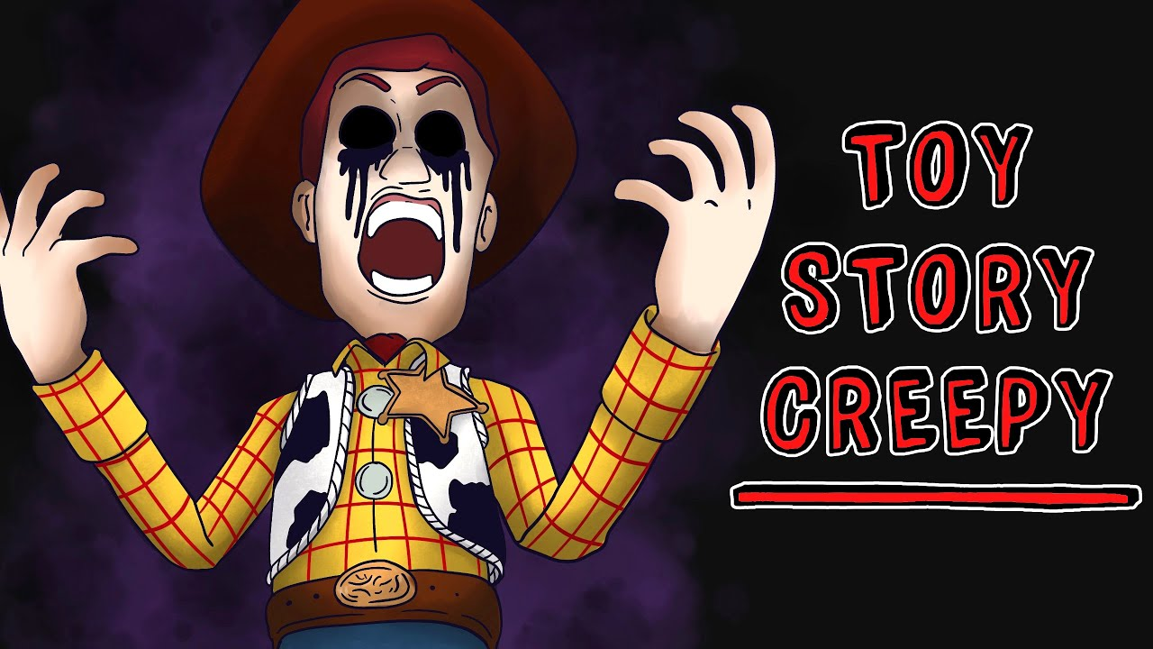 Toy Story Creepy 🔪 Historia de Terror Draw My Life