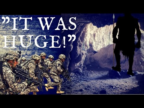 The U.S. Military Encounters A 15 Foot GIANT In The Caves Of Afghanistan! (Full Testimony)