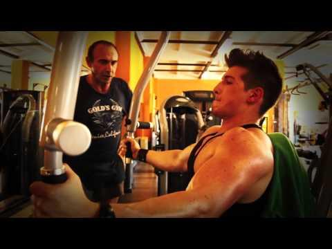 Luca Leone Allenamento Heavy Duty con Pietro Sassi PETTO !!!!