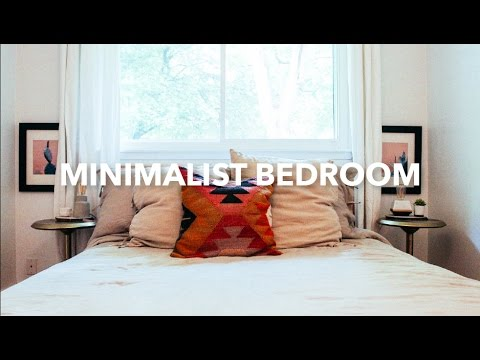 Minimalist bedroom tour hannah eleanor youtube for Minimalist bedroom tour
