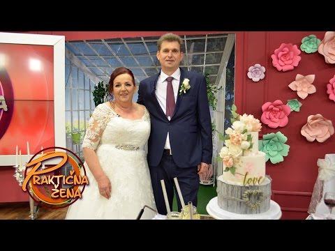 Praktična žena - Svadbeno veselje - Jadranka i Stevo par koji je se venčao posle 27 godina