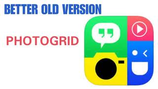 OLD VERSION OF PHOTOGRID APP screenshot 4