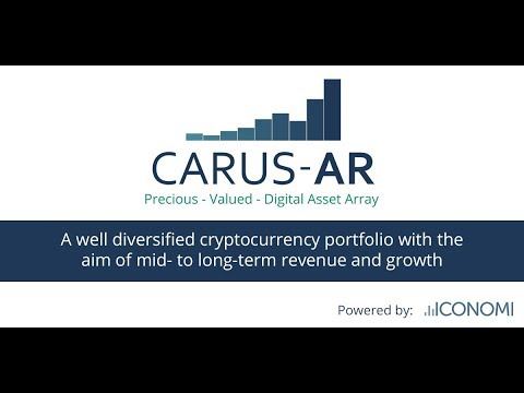 ICONOMI platform overview by CARUS-AR