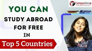 Top 5 Countries To Study Abroad For Free - 2020   Germany, Norway, Finland, Brazil, Greece