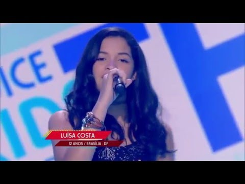 "Luísa Costa canta ""Fly me to the moon"" no The Voice Kids - Audições