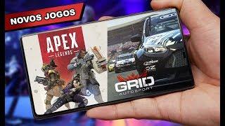 APEX MOBILE, GRID e novos JOGOS PARA ANDROID 2019