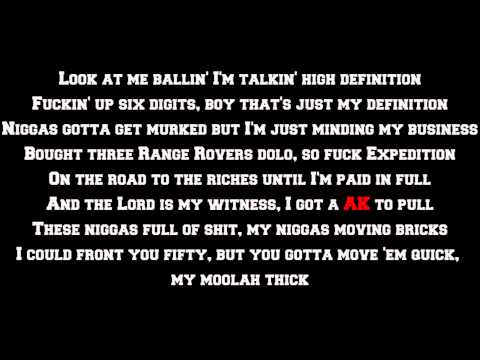 Rick Ross - High Definition (Lyrics Screen) HQ