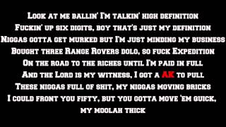 Rick Ross - High Definition (Lyrics Screen) HQ