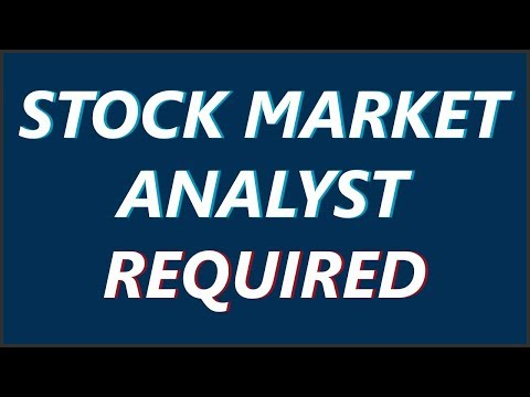 Stock Market Analyst Required by Paisa To Banega