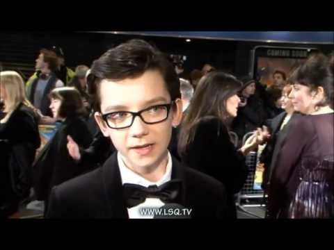Asa Butterfield  change in voice