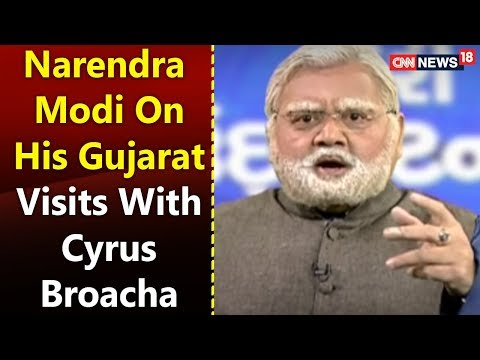 Narendra Modi on his Gujarat Visits with Cyrus Broacha | The Week That Wasn't With Cyrus Broacha