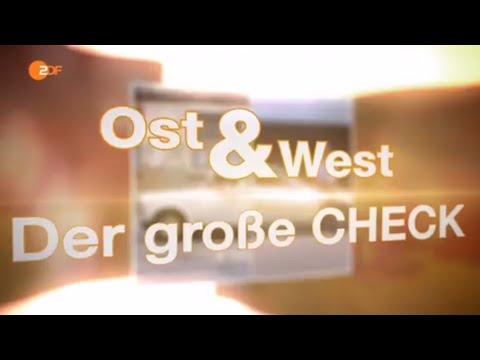 Ost und West - der große Check (Doku) ZDFzeit vom 22. September 2015