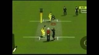 Brian Lara Pressure Play Sony PSP Gameplay -