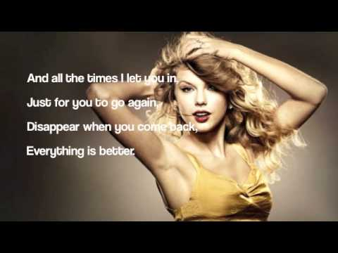 Taylor Swift ft. Gary Lightbody- The Last Time Lyrics