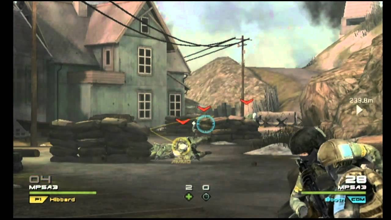 tom clancy's ghost recon nintendo wii first look - youtube