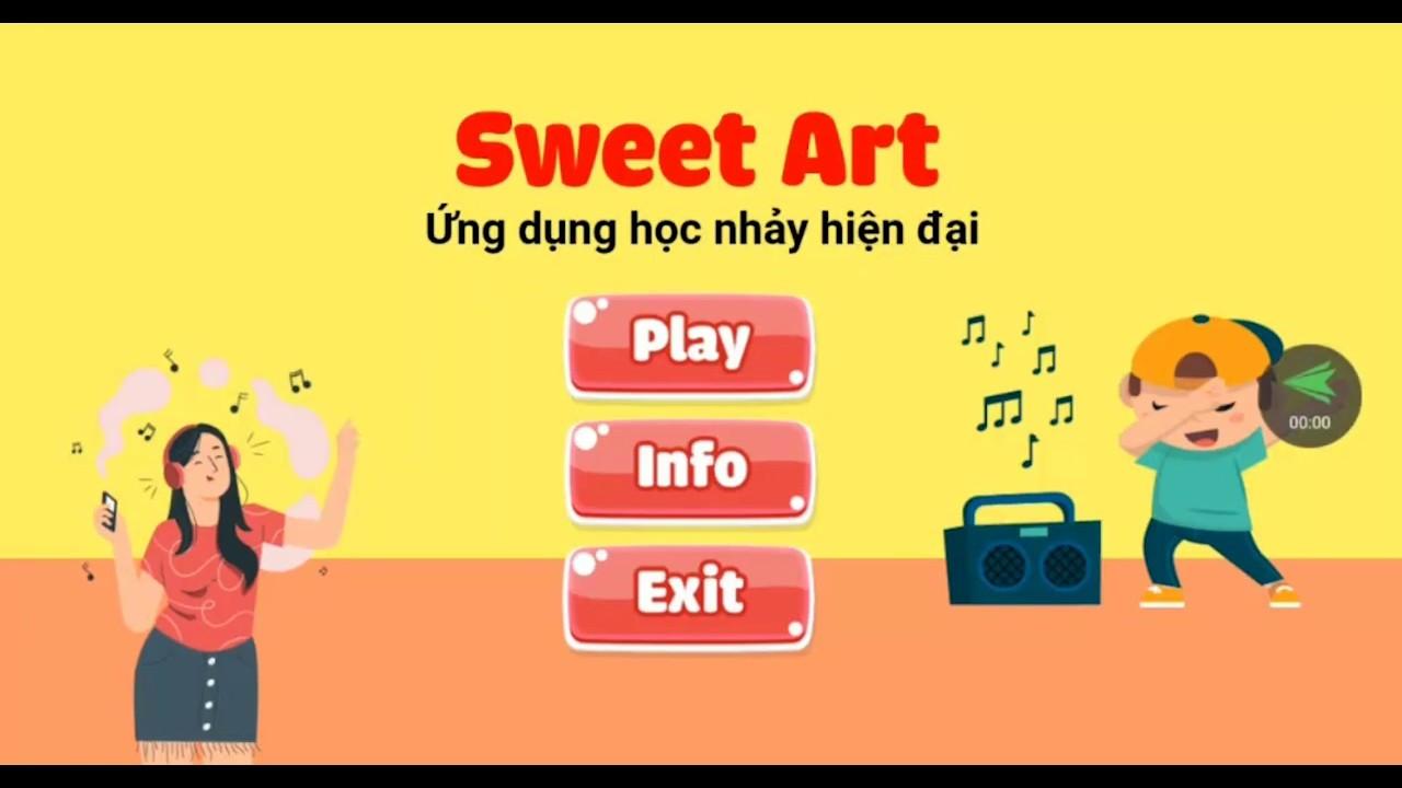 Giới thiệu App Sweet Art Học nhảy hiện đại