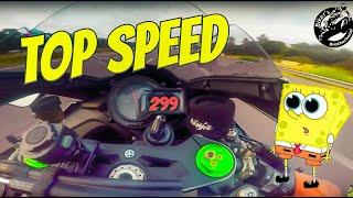 Kawasaki H2 Test Ride - TOP SPEED 🔥
