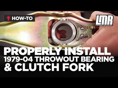Mustang Throwout Bearing & Clutch Fork Install (79-04 Fox Body & SN95)
