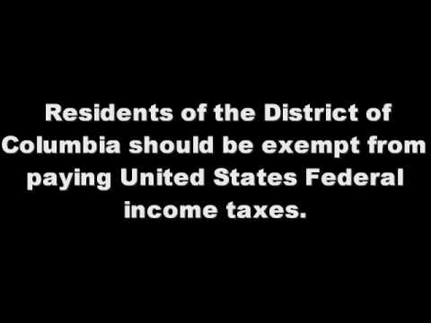 An Income-Tax FREE DC, House Resolution 1014