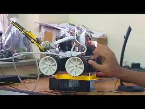 Raspberry Pi Smart Robot | Techfest 2015- IIT Bombay