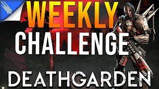Weekly Inquisitor Weapon Skin Challenge - Deathgarden Inquisitor Gameplay