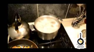 Волшебный сырный суп с чесночными гренками