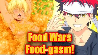 Food War Food-gasm!! - Food Wars! Anime Review