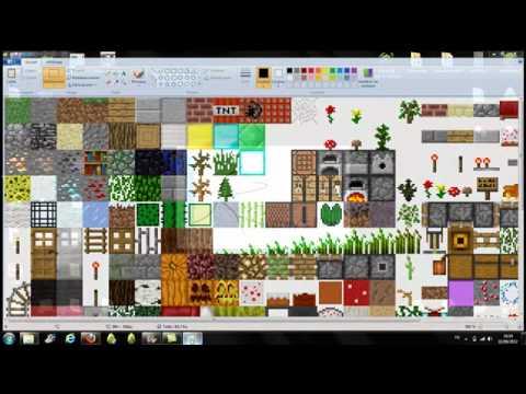 Tuto Comment creer un pack de texture sur minetest-c55 - YouTube