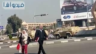 إغلاق صلاح سالم لتأمين تشييع جثامين حادث الكنيسة البطرسية
