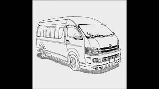 How To Draw A Car #10 (Van Car)