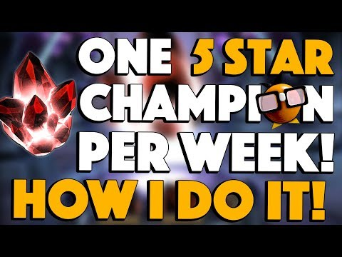 One FIVE STAR CHAMPION Per Week: How I Do It!
