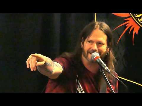 Gary Holt of Slayer/Exodus at Rock City Music Store