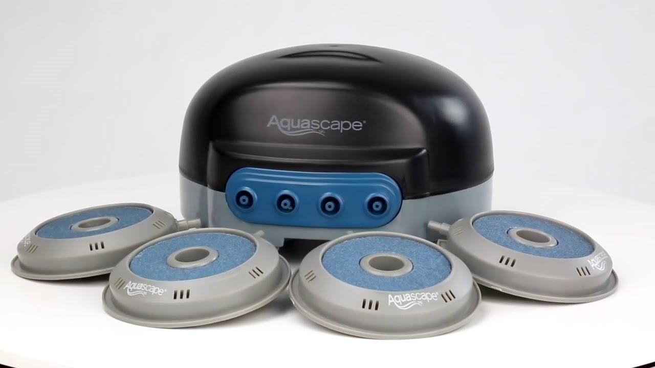 Aquascape Pond Aeration Kits - YouTube