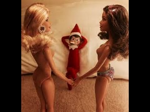 Download 50 Naughty / Bad Elf on the Shelf  - caught  partying on camera - Naughty elf pictures -Adults only