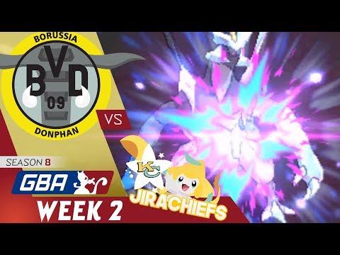 GBA S8 Week 2 | Borussia Donphan (1-0) VS  Kansas City Jirachiefs (1-0) w/ El Scizor