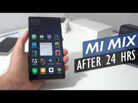 Bezel-Less Xiaomi Mi Mix - Thoughts After 24 Hours Use