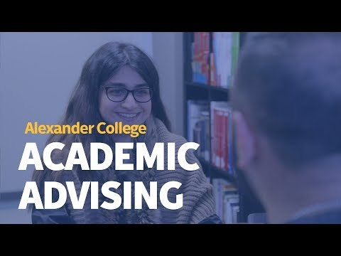 Academic Advising At Alexander College