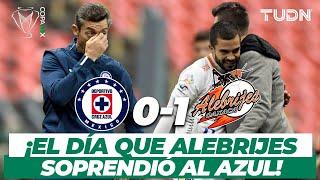 ¡Qué sorpresa! Alebrijes elimina al Cruz Azul a domicilio I Cruz Azul 0-1 Alebrijes Copa MX I TUDN